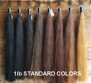 New Horse Tail Extension 1lb 36 Blunt Cut Kathys Tails Choice Of Color Free Bag