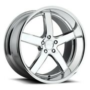 4/set 20 Staggered Niche M171 Pantano Chrome Wheels And Tires