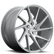 4new 20 Staggered Niche M162 Invert Silver Machined Wheels And Tires