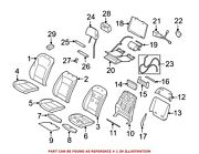 For Bmw Genuine Seat Back Cover Front Left 52107303825