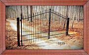 Vets Discount Driveway Gates 11and039 Or 12and039 Wide Incl The Post Package Home Security