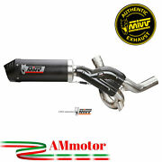 Exhaust Mivv Ducati Multistrada 1200 2015 15 Oval Carbon Cap Motorcycle No Kat