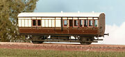 Parkside Pa 613 Gwr 4 Wheel Brake Coach 2 X 3rd Class Compartments 00 Kit-t48