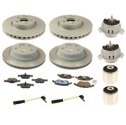 Custom Kit Front And Rear Brake Rotors And Pads And Engine Mounts Kit For Mercedes