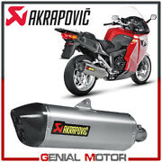 Exhaust Titanium Approved Muffler Akrapovic For Bmw K1200 Gt 2006 2008