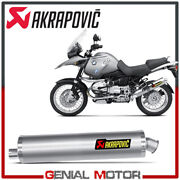 Exhaust Titanium Approved Muffler Akrapovic For Bmw R1150gs 1999 2004