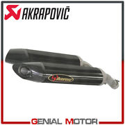 Pair Of Carbon Exhaust Approved Mufflers Akrapovic For Yamaha Yzf-r1 2004 2006