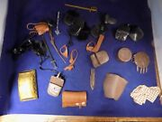 Marx Johnny West Lot Of Accersories Weapons .etc