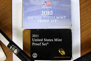 1 2010-s And 1 2011-s Clad Us Proof Sets In Original Us Mint Packaging-num3932