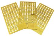Dcc Concepts - Dcp-cs99 Cobalt-s Brass Etched Numbers For Point Switch Lever 1st