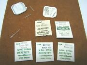 Ronda, Felsa, Oris, Forster, Mix Lot Of Stems For Wrist Watches Over 13 Pc.s
