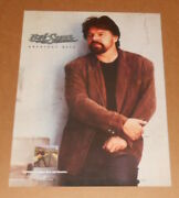 Bob Seger And The Silver Bullet Band Greatest Hits Promo 1994 Poster 24x18