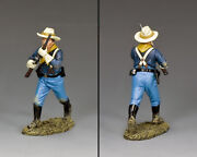 King And Country John Ford's Cavalry Kx037 U.s. Cavalry Trooper Advancing Mib