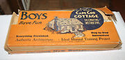 Rare Vintage Building Set From 1938 Miniature Cape Cod House Model Toy