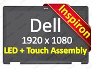 13.3 Fhd Dell Inspiron 13 7368 7378 Touch Lcd Screen Bezel Assembly Replacement