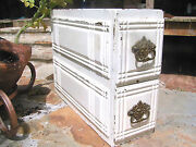 Sewing Machine Drawers, Antique Treadle Cabinet 1167