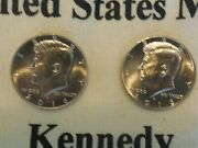 Two 2016 Kennedy Half Dollar Bu P And D Mintsandnbsp 2nd And 3rd Shipped Free