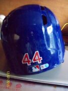 Anthony Rizzo Chicago Cubs Game Used Game Worn Batting Helmet Mlb Authenticated
