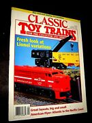 Classic Toy Trains- September 1995- Lionel And American Flyer