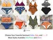 New Cupshe Fashion Swimsuit Beach Swimwear Bathing Suits Most Styles Available