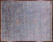 8and039 1 X 10and039 0 Hand Knotted Wool And Silk Area Rug - P9475