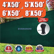Dark Green 4and039 5and039 6and039 8and039 Tall Fence Windscreen Privacy Screen Shade Cover Mesh