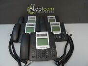 Aastra Packet 8x8 6755i 55i Ip Office Display Phone A1755-3640-10-01 Lot Of 5x