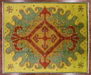 8and039 2 X 9and039 8 Moroccan Hand Knotted Wool Area Rug - P5512