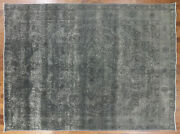 9and039 10 X 13and039 1 Hand Knotted Traditional Overdyed Rug - P3920