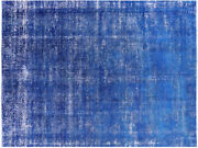 8and039 3 X 11and039 1 Overdyed Hand Knotted Rug - P4161