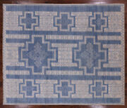 Southwest Navajo Hand Knotted Wool Area Rug 7and039 11 X 9and039 5- Q1567