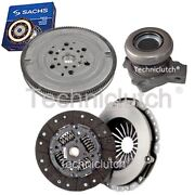 2 Part Clutch Kit And Sachs Dmf With Csc For Opel Zafira A Mpv 2.0 Dti 16v