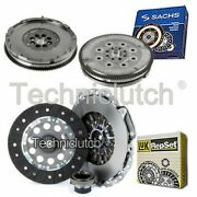 Luk 3 Part Clutch Kit And Sachs Dmf For Bmw 7 Series Berlina 728iil