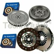 Sachs 2 Part Clutch Kit And Sachs Dmf For Vw Eos Convertible 2.0 Tfsi