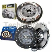 Sachs 3 Part Clutch Kit And Luk Dmf For Audi A4 Estate 1.8 T Quattro