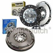 Luk 3 Part Clutch Kit And Sachs Dmf For Toyota Avensis Saloon 2.0 D-4d