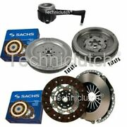 Sachs 2 Part Clutch Kit And Sachs Dmf With Csc For Vw Golf V Estate 2.0