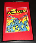Boy Commandos 1 Cover Framed 11x17 Photo Display Official Repro Jack Kirby