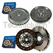 Sachs 2 Part Clutch Kit And Sachs Dmf For Audi A3 Convertible 2.0 Tdi