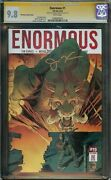 Enormous 1 Cgc 9.8 Ss Signed By Christmas Phantom Variant Cover Nm/mt