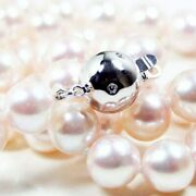 New 9mm Akoya Saltwater White Pearl Necklace Pacific Pearlsandreg Office Wear Jewelry