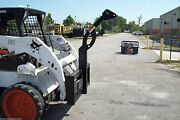 Skid Steer Tree Carrier,fits All Brands,59 H,rated 3500 Lbs,fits Bobcat,cat,etc