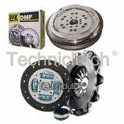 Nationwide 3 Part Clutch Kit And Luk Dmf For Mercedes-benz Vito Box 113 2.0