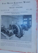 Fort Wayne Electric Works / Wood Systems Bulletin No.1080 Multiphase