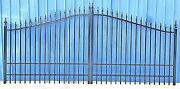 On Sale Inc Post Pkg Driveway Gate 1122 14and039 Wd Garden Home Yard Security