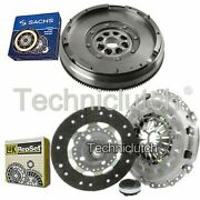 Luk 3 Part Clutch Kit And Sachs Dmf For Peugeot 307 Cc Convertible 2.0 Hdi 135