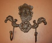 6 Garden Gargoyle Patio Shed Wall Hook Solid Cast Iron 9 Tall 6 Pieces H-94