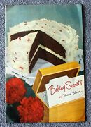1953 Baking Secrets Mary Blake Cooking Cook Book Carnation Company Los Angeles