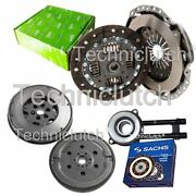 Valeo 2 Part Clutch And Sachs Dmf With Sachs Csc For Mazda 2 Hatchback 1.4 Cd