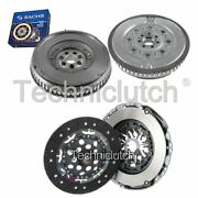 Nationwide 2 Part Clutch And Sachs Dmf For Renault Megane Convertible 1.9 Dci